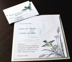 cute bird invitations
