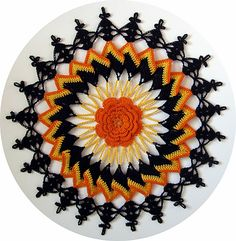 Ravelry: Trick or Treat Doily pattern by Elizabeth Ann White