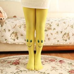 Made with the finest cotton, nylon, and acrylic, these stylish stockings are a fan favorite of all young girls out there. Make an impression and be stylish. Yellow Sky, Blue Orange, Purple, Pink, Yellow Clothes, Happy Colors, Red Apple, Girls Out, Spring Break