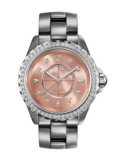 Chanel's new J12 Chromatic watch in powder pink
