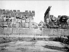 Ruins of Baalbek Unexplained Mysteries, Ancient Mysteries, Ancient Artifacts, Unexplained Phenomena, Ancient Aliens, Ancient History, Stonehenge, Ufo, Alien Theories
