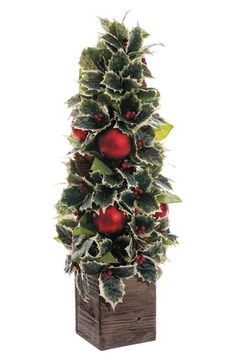 ALLSTATE Holly & Ornament Topiary available at #Nordstrom