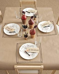 Kid's Party Table | Sweet Paul Magazine