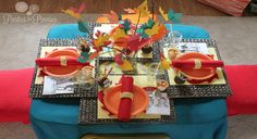 Kids Thanksgiving Table - Creative Home