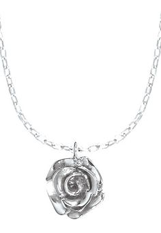Sterling Rose Pendant - Boma