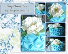 White Peony Gumpaste flower by penciltrace on Etsy, $16.99