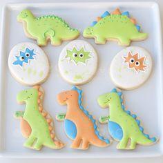 Dinossaurs dino Cookies