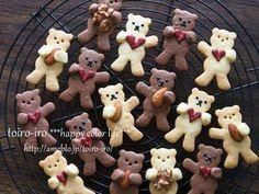 cottaの連載を更新しました「抱っこくまさんのクッキー」 : トイロ
