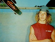 Tony Alva - The ad that started it all - this was the skateboard my brother Randy had.