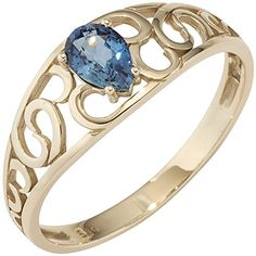 JOBO Damen Ring 585 Gold Gelbgold 1 blauer Safir Goldring... https://www.amazon.de/dp/B0142J71K6/?m=A105NTY4TSU5OS