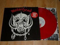 MOTORHEAD - Motorhead - RED VINYL LP  INNER - BIG BEAT WIK 2 Motorhead Motorhead, Lp
