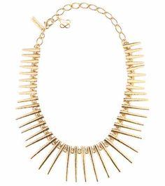 Spike necklace | Oscar de la Renta