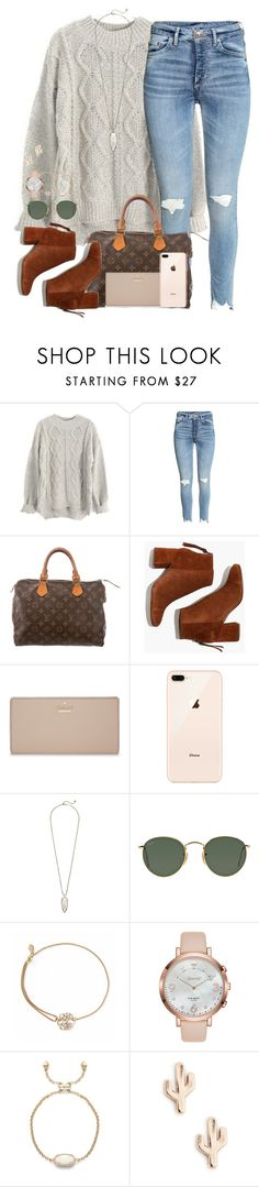 """what we need in this world is a big group hug"" by kaley-ii ❤ liked on Polyvore featuring Louis Vuitton, Madewell, Kate Spade, Kendra Scott, Ray-Ban, Alex and Ani and Sole Society"
