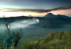 18 Places To Watch Amazing Sunset Aroud The World - Mount Bromo, Indonesia