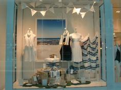 Vicky's Visual Merchandising Musings: Summer's Here And The Shops Are In Full Bloom!