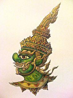 Thai art by ~tyrantwyvern on deviantART