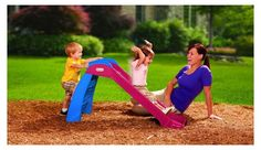 Little Tikes First Slide Red Blue Kid Toddler Indoor Outdoor Fun Toy Free Ship #LittleTikes