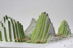 BIG - Bjarke Ingels Group - Hualien Resort - Model 04.jpg