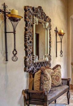 If you are having difficulty making a decision about a home decorating theme, tuscan style is a great home decorating idea. Many homeowners are attracted to the tuscan style because it combines sub… Tuscan Decorating, Interior Decorating, Old World Decorating, Home Interior, Interior And Exterior, Interior Design, Interior Modern, Casa Magnolia, Design Entrée