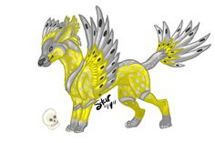 """Jahra by ShadowStar08.deviantart.com on deviantART """"Some art I did of a creature on Rescreatu. This was done for Jahra. =3  I got Photoshop and a Huion tablet for my birthday and I am trying to break them in.""""  Huion 580 http://www.amazon.com/Huion-Graphic-Drawing-Tablet-Pressure/dp/B00DKW816K/ref=aag_m_pw_dp?ie=UTF8&m=A30BRCK3LE6SB5 #blackfriday #cybermonday #promo #thanksgiving #tablet #graphicstablet #drawingtablet #birthdaygift #huion"""
