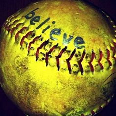 Softball..believe