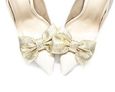 Pearl Shoes, Rhinestone Shoes, Crystal Shoes, Gold Shoes, White Shoes, Bridal Shoes, Wedding Shoes, Flower Shoes, Shoe Clips