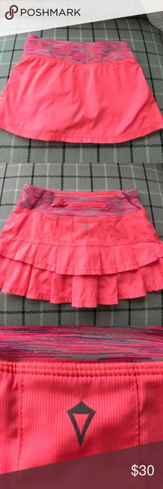 Ivivva Size 7 Pink Tennis Skirt Ivivva size 7 Pink Tennis Skirt. Really cute and comfortable! Ivivva Bottoms Skorts