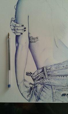 Arte na canetas esferográfica