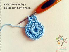Luciana Ponzo Criações em Crochê: Borboletas para aplique
