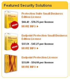 Symantec store :- Yes, one of the best PC Security services provider, Symantec store, is expanding their business, by encouraging partnerships through interested parties / web masters.