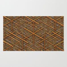 It's Gold Area & Throw Rug by Lyle Hatch - $28.00