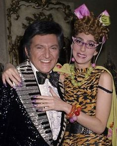 Liberace and Cher, 1970s