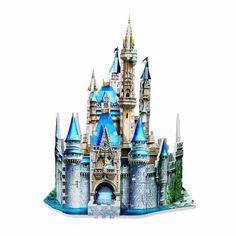 Cinderella Puzzle Disney Puzzle 3D Puzzle 3D Puzzle Castle Disney Cinderella #Disney