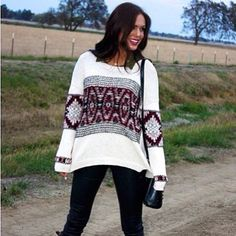 Thanks again to the girls @crossroadsblog for all the great #willowclay posts on their blog! Here's our Native Pullover #ootd #fashion #fun www.willowclay.com