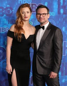 Grace Gummer and Christian Slater attend the HBO's Post Emmy Awards reception at…