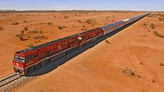 The legendary GHAN railway, runs all the way from Adelaide in South Australia through to Darwin in the Northern Territory. One of the longest train journeys in the world. Train Tracks, Train Rides, Western Australia, Australia Travel, Darwin Australia, South Australia, Australia Country, Venice Simplon Orient Express, Chutes Victoria