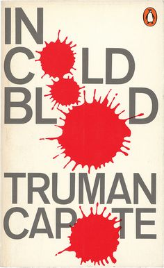 """""""In Cold Blood""""  Truman Capote  1970 edition"""