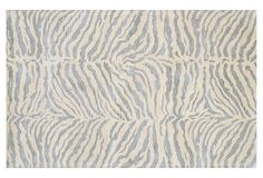 Wilderness Rug, Silver Blue on OneKingsLane.com