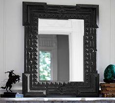 9774c535de04 Ken Fulk Tramp Art Mirror  potterybarn Mirrored Furniture