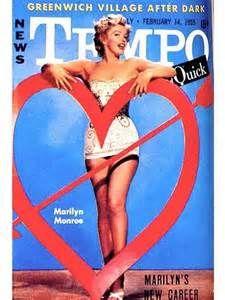 tempo magazine covers - MARILYN MONROE