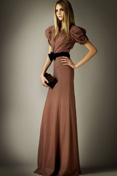 Full length dress - Love the Burberry Prorsum collection