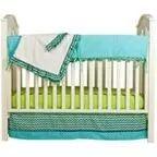 Pam Grace Creations Simply ZigZag 4-Piece Crib Bedding Set