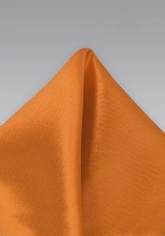 Einstecktuch helles orange