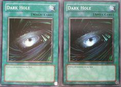 Dark Hole NMT Konami Yu-Gi-Oh! Legend of Blue Eyes White Dragon + Rare LOB EN052 #Konami