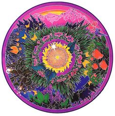 Holistic Garden Mandala
