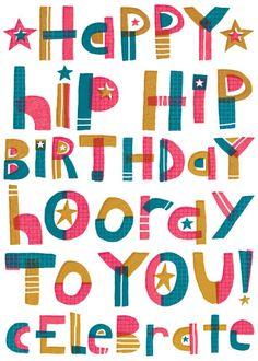 Gareth Williams - Handdrawn Lettering Birthday RGB