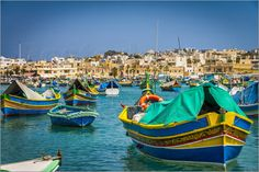 "#WallArt ""Marsaxlokk"" on #Posterlounge: online shop for #posters, #artprints, and #wall pictures."