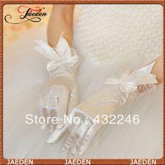 WG001 DropShipping New Arrival Finger Bridal Gloves For Wedding $5.99