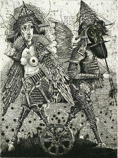 Oleg Denisenko : Quo Vadis? II at Davidson Galleries