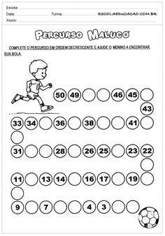 Atividades de Matemática 2° Ano para Imprimir Number Worksheets Kindergarten, Math Practice Worksheets, First Grade Worksheets, Preschool Math, Number Writing Practice, Maternelle Grande Section, English Worksheets For Kids, Math For Kids, Math Lessons